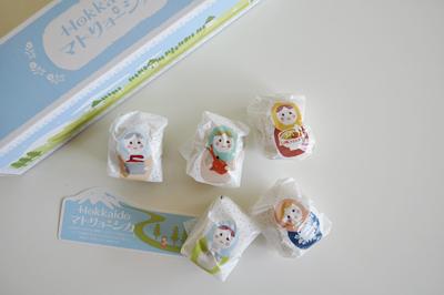 北海道 お土産 お菓子 マトリョーシカ