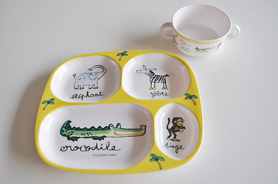 フランス ラシェーズロング 子供用食器