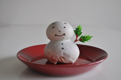 雪だるまのパン クリスマス