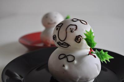 阿倍野近鉄 雪だるま パン