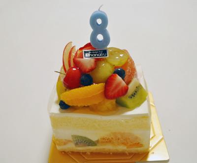 フルーツ 誕生日ケーキ