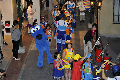 キッザニア パレード