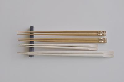 市原平兵衛商店の白竹もりつけ箸と白竹のし箸