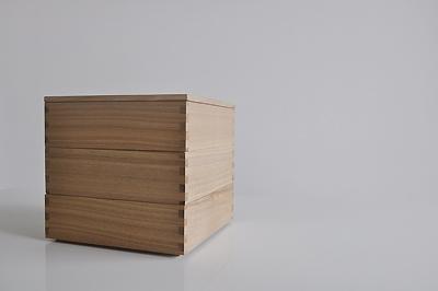 松屋漆器店 白木の重箱