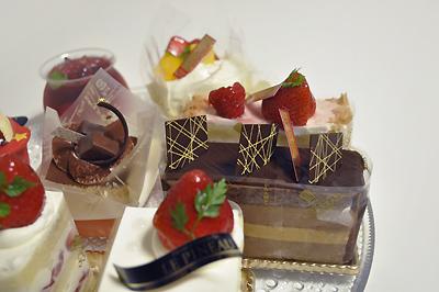 大阪 北堀江 LE PINEAU のケーキ