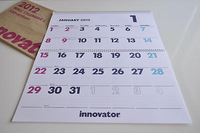 innovator 2012 カレンダー イノベーター 購入