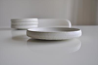 白い皿 4.5寸取り皿 辻中秀夫