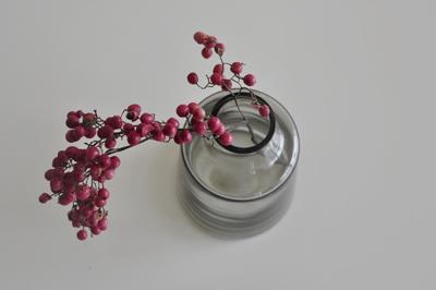 ホルムガード フローラ Holmegaard Flora 花瓶 花器 買いました。