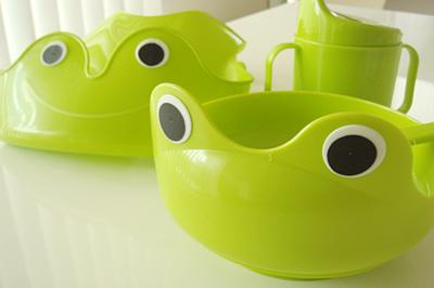 IKEA かえるの食器