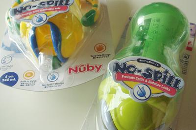 NUBY フリップイットボトル1