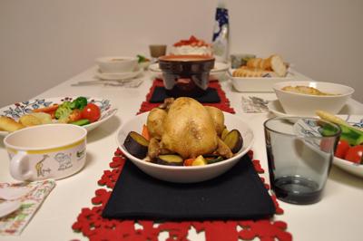 2010 クリスマスディナー